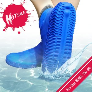 Reusable Silicone Shoe Cover S   M   L Waterproof Water Rain Shoes Covers Outdoor Camping Non Slip Rubber Rain Boot