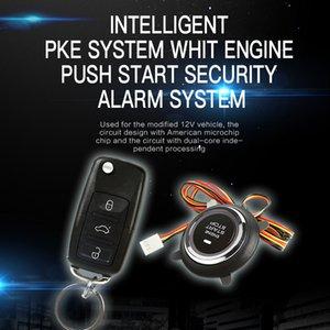 Auto système PKE intelligent, poussée de départ du moteur, système d'alarme de sécurité, entrée sans clé de voiture ST9007