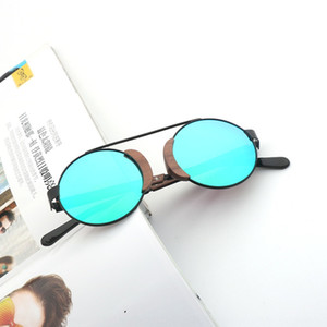 New bamboo-wood women's frame Wood + metal glasses sunglasses eye protection polarized sunglasses