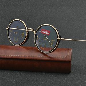 Brand Design Progressive Multifocal Reading Glasses Women Presbyopia Hyperopia Bifocal Glasses Sun Photochromic Eyeglasses NX