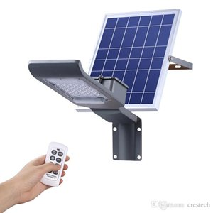 CRESTECH Outdoor Lighting Solar Street Lamps 20W 30W 40W 50W 100W Use For Square Highway Park Graden