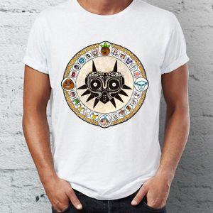 Männer-T-Shirt Majoras Mask Legend Of Zelda Artsy T