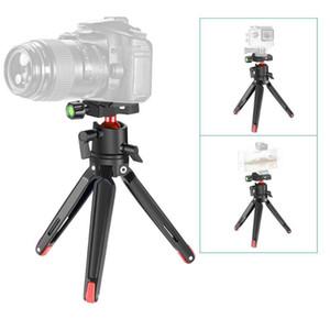 Mini Tripod Handheld Travel Desktop Tripod Camera Stand Holder for Canon for Nikon Sony DSLR Action Sports Camera