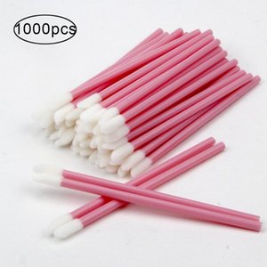 500 1000Pcs Set Disposable Lip Brush Lipstick Gloss Wands Applicator Makeup Tool Cosmetic Brushes Eyelash Eyebrow Accessories