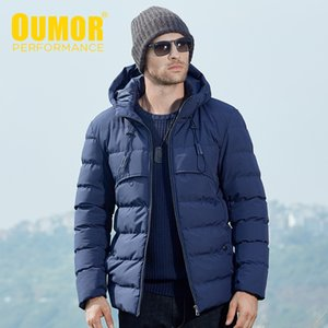 Oumor Homens Outono-Inverno Tactical roupa grossa jaqueta Brasão Homens Hoodie Windbreaker Waterproof Parkas Parkas Trench