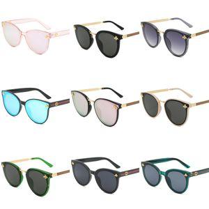 2020 Fashion Fire Flame Sunglasses Women Men Rimless Wave Sun Glasses UV 400 Eyewear Trending Narrow Sunglasses#987