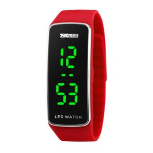 SKMEI Sports Watches Women Girl Child Fashion Casual Led Digital Wristwatches Silicon Strap Complete Calendar Relogio Feminino