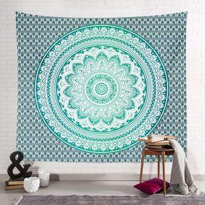 150 * 130 cm Bohemian Goblen Mandala Plaj Havlusu Battaniye Hippi Atmak Yoga Mat Havlu Hint Polyester Duvar Asılı Dekor 40 Tasarım GWF4254