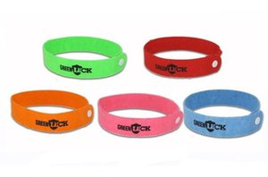 FREE SHIPPING OEM GREENLUCK Mosquito Bracelet Repellent Band Camping Killer Bangle Wristband summer DHC847