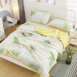 New 3PCS 100% washed cotton (100% polyester) Single or double bedspread summer blanket Air conditioner quilt 200x230cm bed cover29