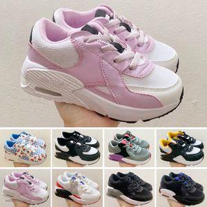 Nike Air Max 90 2020 Kinder-Sneaker Presto II Schuh Kindersportorthopädie Jugend Kinder Trainer Baby Mädchen Jungen Schuhe Größe EUR Lauf 24-35
