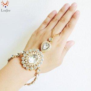 SL-012 اليد سلسلة سوار الرقيق سوار الزفاف مجوهرات الزفاف اليد مجوهرات بوهو البوهيمي