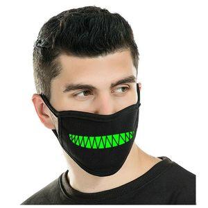 Unisex Zoylink pó do produto Glow in Genuine Boca Qualidade Um projeto luminosos Máscaras Brilho Máscaras Zoylink yxlAa xhhair