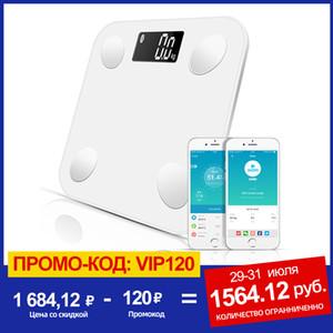 SDARISB Bluetooth escalas chão Peso Corporal Escala de banheiro inteligente backlit Muscle Scale Peso Corporal Água Fat Mass BMI