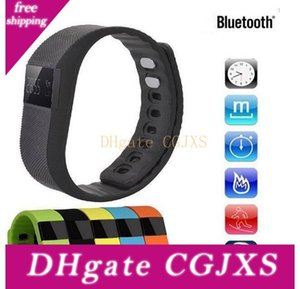Hot Fitbit Style Tw64 Wristband Smart Band Fitness Activity Tracker Bluetooth 4 .0 Smartband Sport Bracelet For Ios &Android Phone