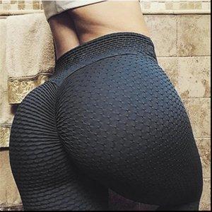 Neue Scrunch Booty Leggings Fitness Workout Frauen Elastic Jaquard Strukturierter-Gamaschen für Dropper Heiße Verkäufe
