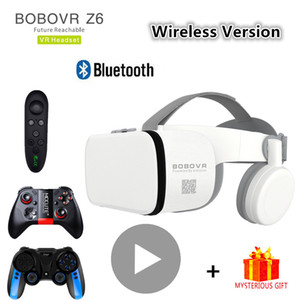 Bobo Bobovr Bluetooth Casme Casco Casco VR Occhiali Virtual Reality Auricolare per smartphone Smart Phone Goggles Viar Binocolo Binocolo LJ200919