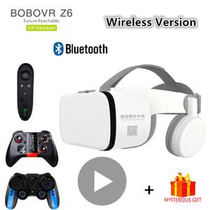 Bobo Bobovr Bluetooth Casque Helmet VR Glasses Virtual Reality Headset For Smartphone Smart Phone Goggles Viar Binoculars LJ200919
