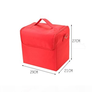 Professional cosmetic bags hand-held large-capacity multi-layer manicure hairdressing embroidery, tool box, storage bag