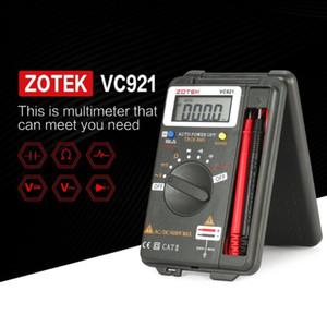 ZOTEK VC921 4000 Counts LCD Digital Multimeter Pocket Auto range DC AC Voltage Ohm Capacitance Diode Continuity Meter Tester