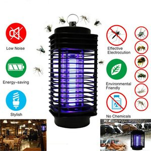 Electronic Mosquito Killer Electronic Insect Killer Control Bug Zapper Trap Photocatalyst Fly Zapper UV Night Light Trap Lamp for Bedroom N