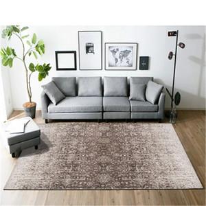 Carpets Yoga 3D Blanket Mat Nordic Geometric Living Room Bedroom Study Bedside Carpet Modern Decor Rug CF