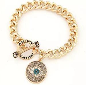 Gold Plated Metal ,Newest Evil Eye Bangle,Jeweled Bracelet,Good Luck Art Charm Bangle Jewelry Glass Dome