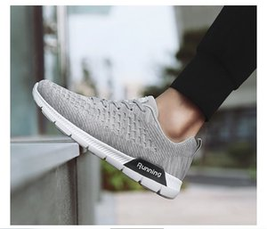 2020 fashion Hot Sale Fashion Men Shoes Mesh Breathable Sneakers Walking Male Footwear New Comfortable Lightweight Running Shoes C-200301114