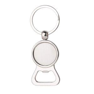 La botella de cerveza abridor de los anillos dominantes de bricolaje para 25mm Herramientas de cristal cabujón Llaveros cocina de la aleación regalos de los hombres joyería de los anillos Engravable clave ps2246