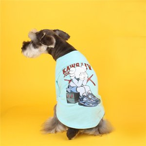 Cute Printed Pattern Pet Shirts Summer INS Fashion Personality Charm Pets T-shirts Trendy Breathable Bichon Schnzuers Apparel