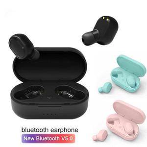 M1 TWS 무선 블루투스 이어폰 헤드폰 5 개 .0 이어 버드 3D 스테레오 미니 헤드셋 소음 차단 이어폰