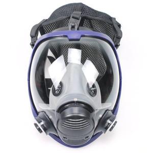Venda-Full Hot face Outdoor Multifuncional Máscara Respirador Máscara de gás Anti-poeira máscara de segurança com filtro Coon de Pintura Indústria