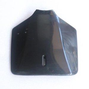 Negro blanco de la motocicleta Plásticos Fender Número frontal Fije la placa de KLX110 KX65 110cc 125cc 150cc 250cc suciedad bici del hoyo