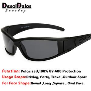 Motorista Homens Polarized Óculos Car Night Vision Goggles Anti-reflexo polarizador óculos polarizados Driving Sun Glasses DesolDelos