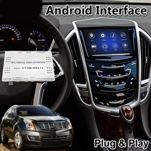 car Android Video Interface for Cadillac XTS SRX ATS CTS XT5 Escalade CUE System 2014-2019 Model with GPS Navigation Wireless Carplay ADAS