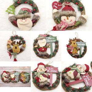 Piernas pjSSq Navidad de la felpa de la muñeca del hombre Postura Bosque largo que se sienta Año Decoración Festival ChristmasOrnaments colgante de la muñeca