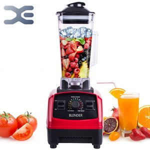 2200W Heavy Duty Commercial Countertop Blender BPA Free Built-in Timer Mixer Professional Juicer Ice Smoothie Soups Machine