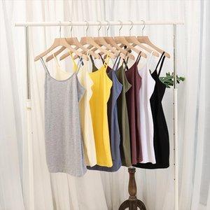 tank top Summer women fitness knit tank top cotton slim casual plus size sleeveless Tops M30230