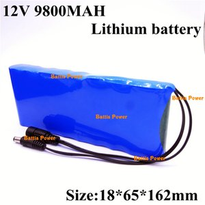 Ltihium Battery Pack 12v 9800mAh 18650 11.1V Li-ion for Camera Children's Toy Car Hernia Lamp +12.6v 1A Charger