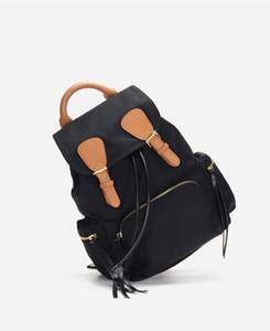 Cartoon + Cartable Canva Tissu Oxford tissu Sac à dos La mode de loisirs rayé sac à dos plein air sacs de voyage de grande capacité AF8020 Knapsack
