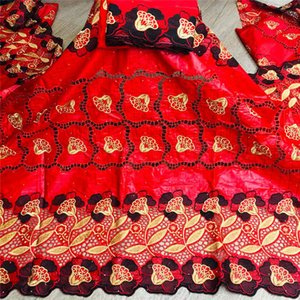 5y New arrival african Bazin riche fabric with beads embroidery lace   bazin riche dress material Nigerian 5+2 yards ! HL81420