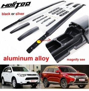 Hottest Багажник / Roof Rail / бар для Mitsubishi Outlander 2013 2019, алюминиевый сплав Крепление, с помощью винтов, Free шпура, Real Strong pwCo #