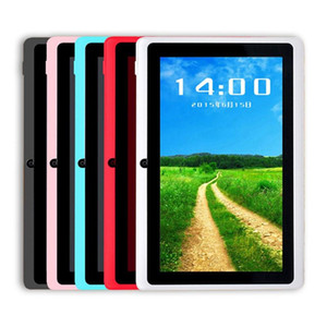 "7 inch Android4.4 Google 3000mAh Battery Tablet PC WiFi Quad Core 1.5GHz 512MB 8GB Q88 Allwinner A33 7"" Dual Camera-1"