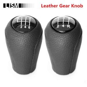 for MAZDA 3 BK BL 5 CR CW 6 II GH CX-7 ER MX-5 NC III 23 MT Leather Shifter Lever Arm Headball
