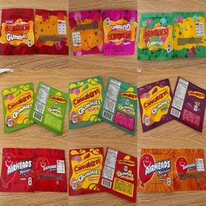 Mylar Warheads Sacs Sac d'emballage Vider Starburst Bonbons Emballage 408mg médicamenté Corde gélifiés sans odeur et Airhea preuve Nerds Sacs Dhl GGFXI