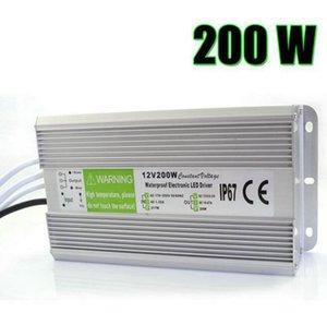 Cgjxs Edison2011 IP67 12v 16 .7a 200w AC 110 -260v entrada Electronic Impermeável LED Alimentação / LED do adaptador 12v 200w