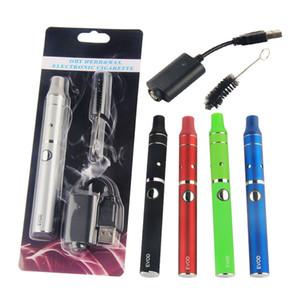 미니 EVOD 전 펜 드라이 허브 기화기 키트 담배 ELECTRONIQUE 꼬마 vape 510 evod 증기 펜 rechageable 배터리