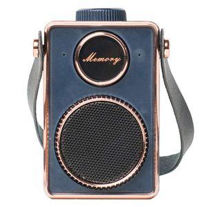 Bluetooth Speaker portatile Retro Fashion TF di mini Bluetooth Stereo 4. 0 Outdoor Surround Sound