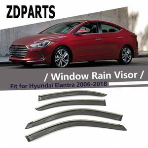 ZDPARTS 4шт автомобилей Ветер Дефлектор ВС Guard дождь Ветер Vent Visor крышки уравновешивания аксессуары для Hyundai Elantra 2006-2016 2017 2018 JPoV #