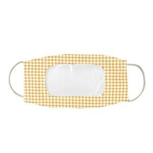 Tasarımcı Yüz Maskesi Koruma Sağır Ve Aptal Dudaklar için Temizle Pencere Görünür Pamuk Ağız Yüz Maskeleri Yıkanabilir ve Kullanımlık Maske GWC802